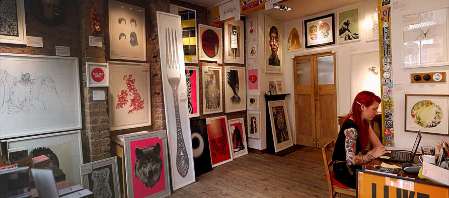 Nelly Duff Gallery Interior