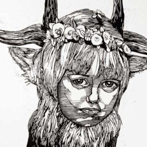 GAI09-Gaia-Earth-Girl-Full-Wall-Thumbnail