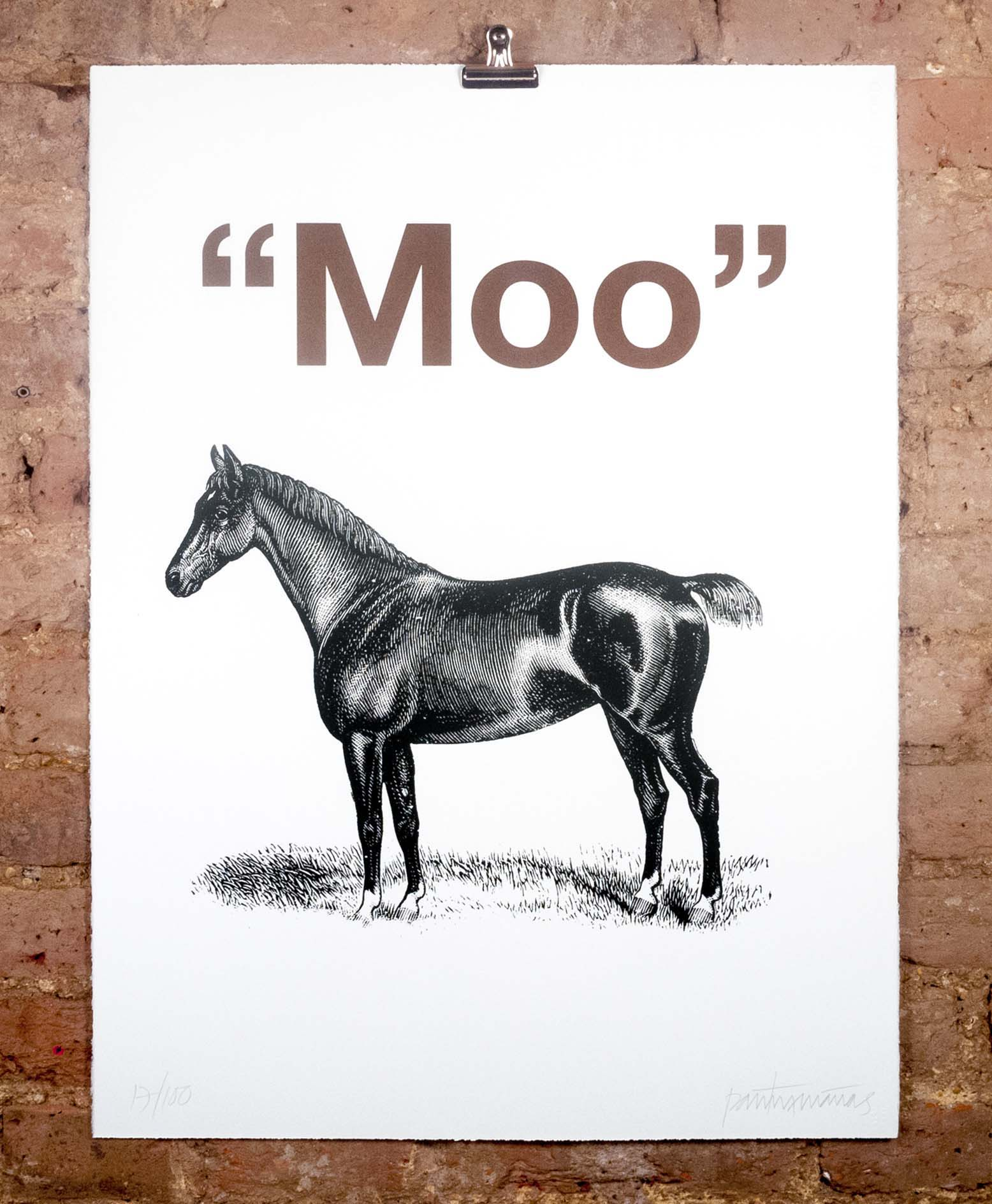Horse (Moo) by Patrick Thomas - Nelly Duff