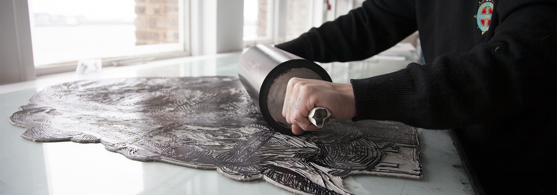 Lino Printing Nelly Duff