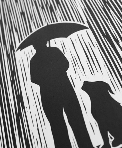 standing in the rain detail lores