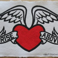 RISE ABOVE lores
