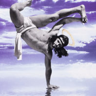 COS06-Cosmo-Breakdancing-Jesus-On-Water-Purple-and-Blue-Thumbnail