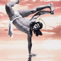 COS07-Cosmo-Breakdancing-Jesus-On-Water-Pink-and-Orange-Thumbnail
