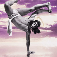 COS09-Cosmo-Breakdancing-Jesus-On-Water-Purple-and-Yellow-Thumbnail