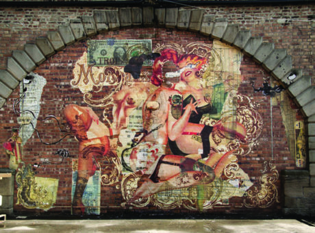 Handiedan mural