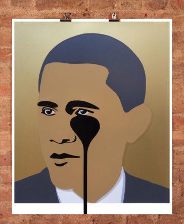 Crying Obama Gold - AP