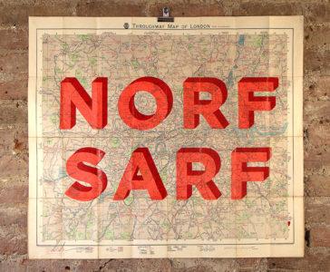 Norf Sarf - Vintage Maps