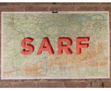 Sarf - Vintage Maps