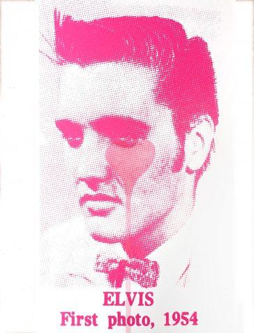 Elvis First Photo, 1954 - Pink Heart