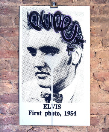 Elvis First Photo - Hand Finished 5