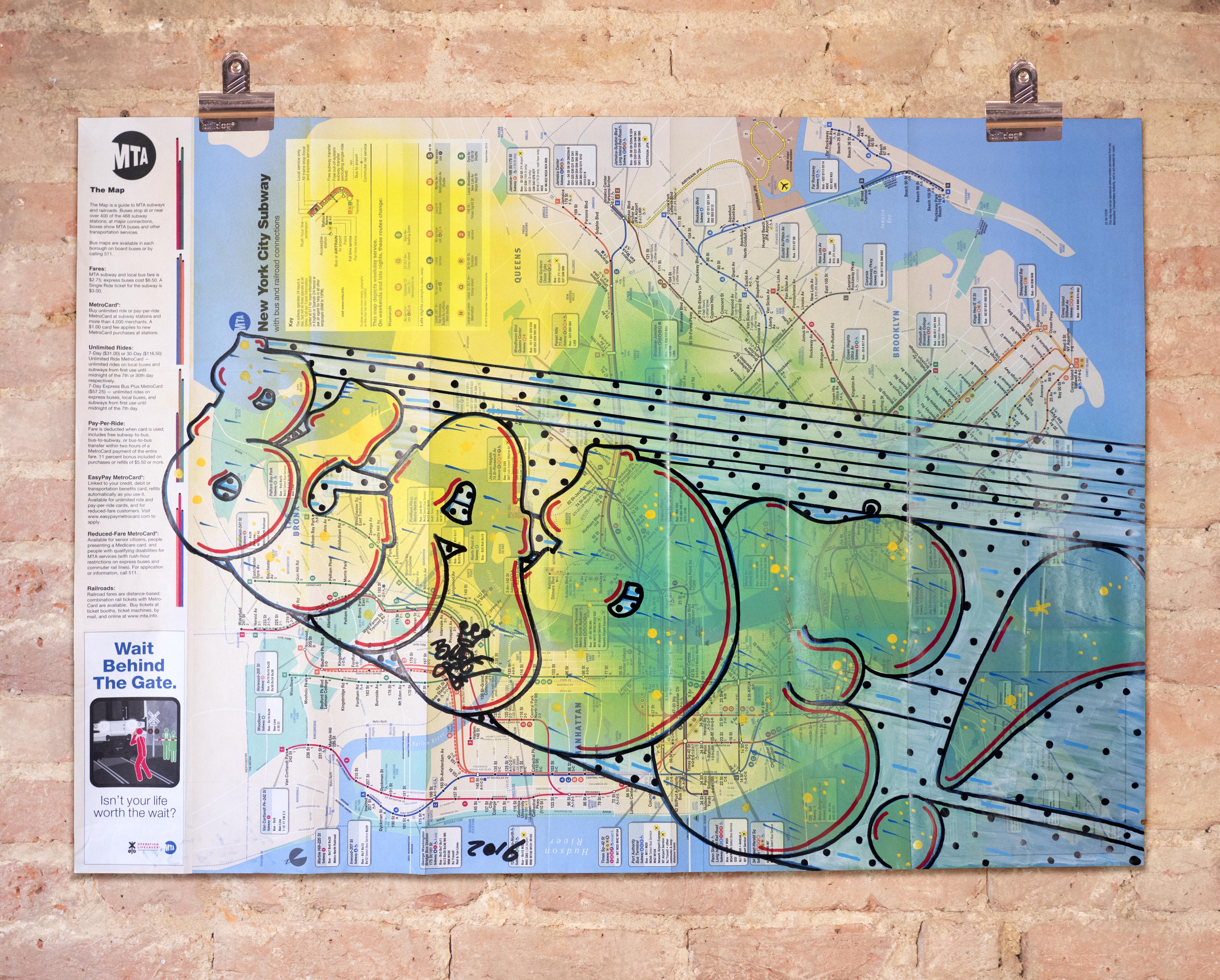Subway Map 6.Original Subway Map 10