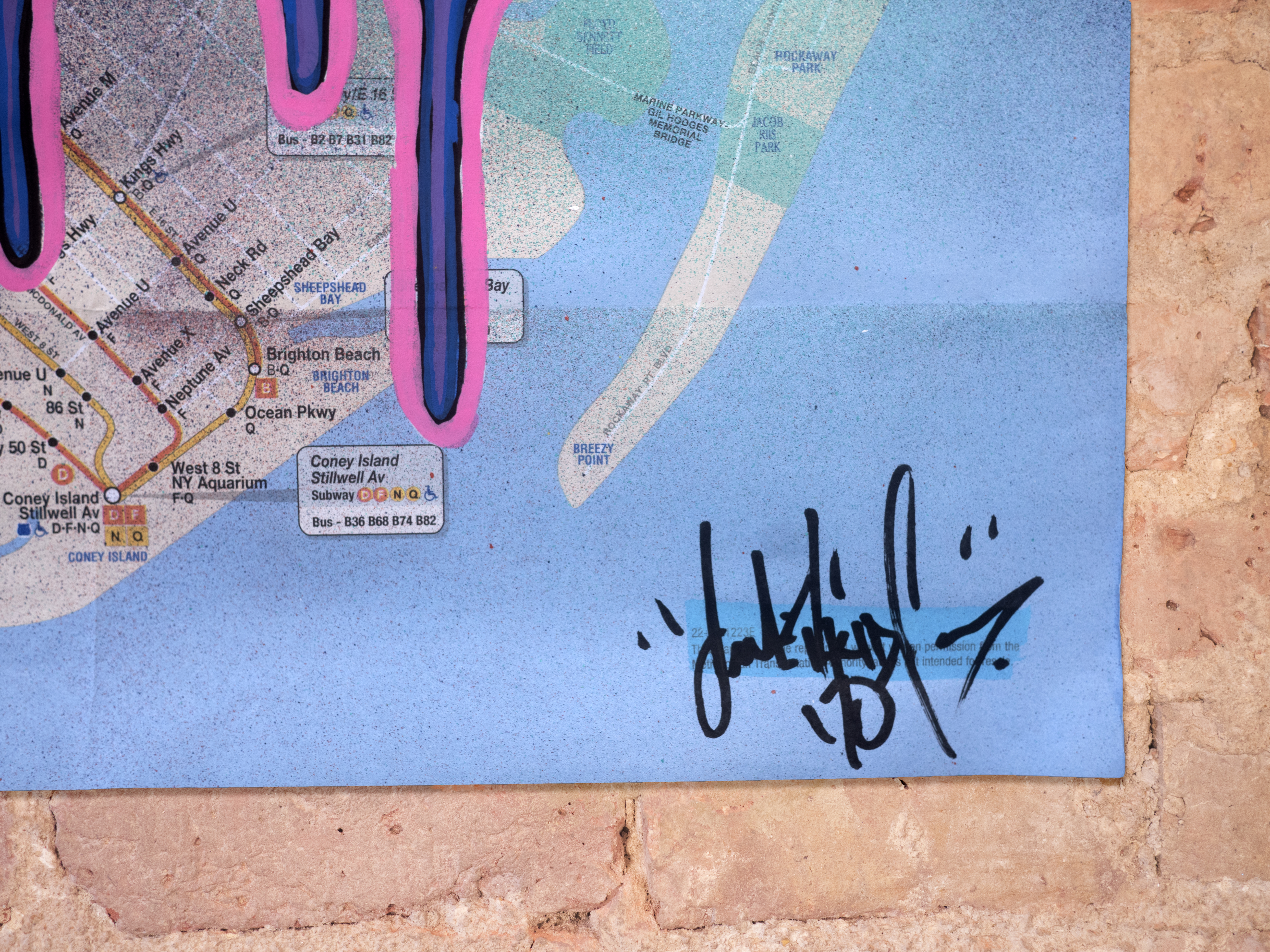 Brighton Beach On Subway Map.Subway Map By T Kid Nelly Duff