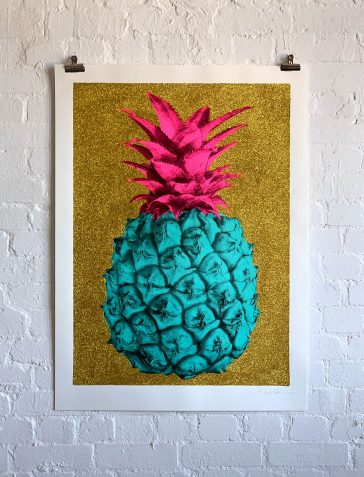 Big Ass Ananas - Blue