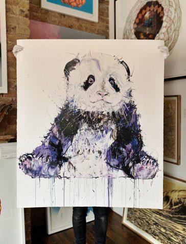 Young Panda II - Diamond Dust (Large)