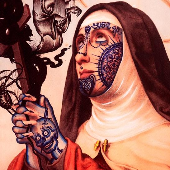 Ramon Maiden Artwork