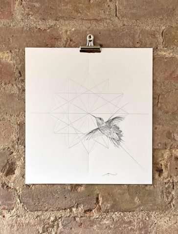 Hummingbird - Silver (Hand Finished)
