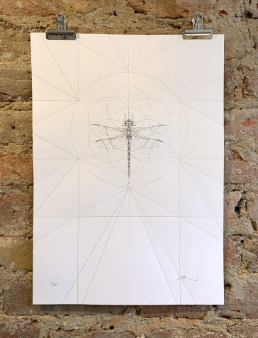 Emperor Dragonfly Prism [Silver & Clear Foil]