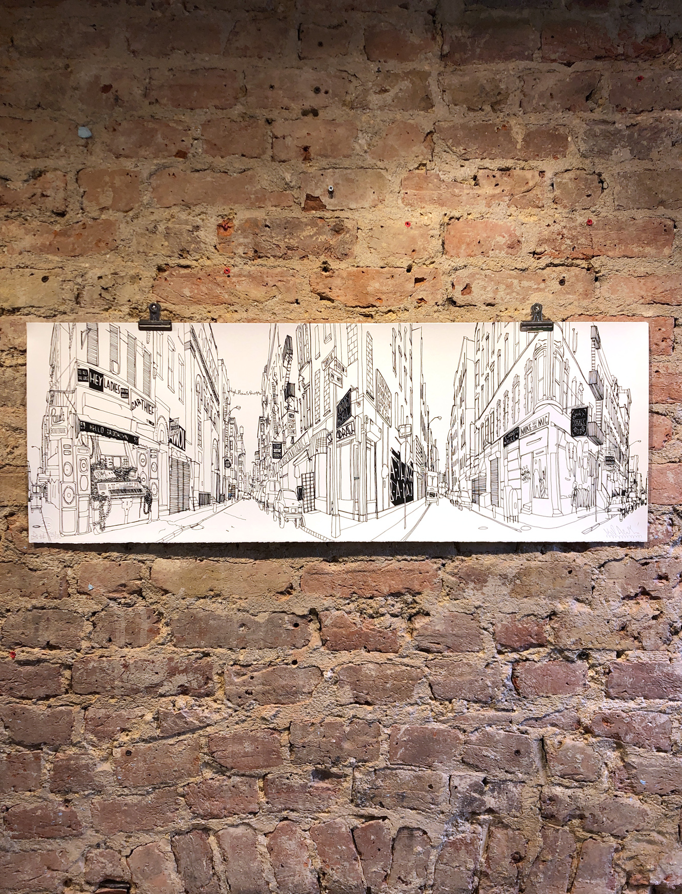 Hello Brooklyn Landscape By Kid Acne Nelly Duff