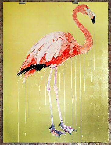 Flamingo II - 2019 [Gold Leaf]