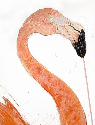 Flamingo II - 2019 [Hand Finished]