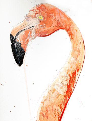 Flamingo I - 2019 [Hand Finished]