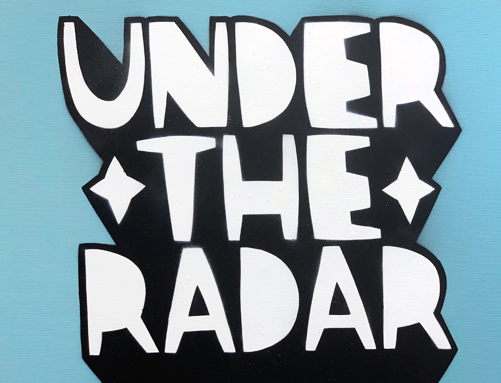 Under The Radar Canvas By Kid Acne Nelly Duff