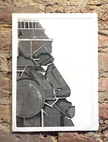 Totem Face 2 - Ghost Print