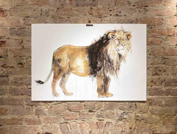 Lion - 2020 [Hand Finished With Gold Leaf]