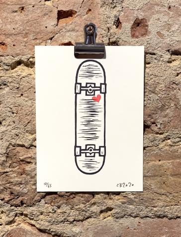 90's Skateboard