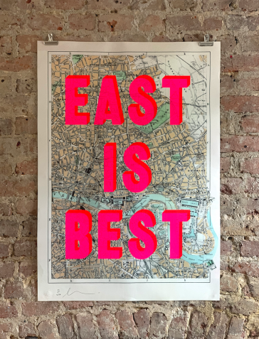 East Is Best - Red Pink