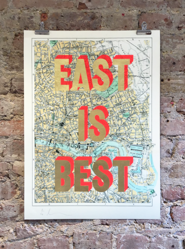 East Is Best - 24ct Gold With Pink