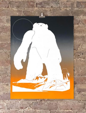 Gradient Yeti (BWGO) - Black Warm Grey Orange