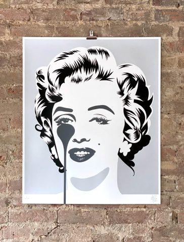 Marilyn Classic - Silver & Black