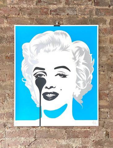 Marilyn Classic - Blue & Silver