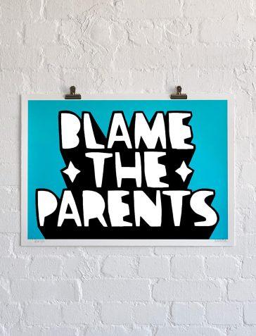 Blame The Parents - Blue