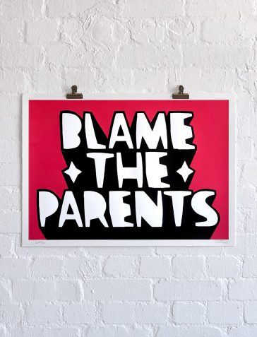 Blame The Parents - Pink