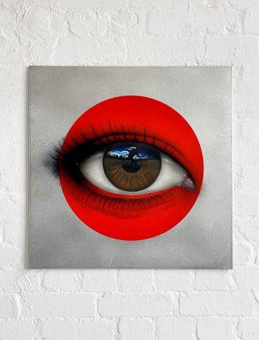 CRYLONG - Red Aluminium Artist's Proof