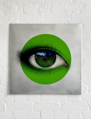 CRYLONG - Green Aluminium Artist's Proof