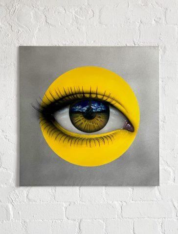 CRYLONG - Yellow Aluminium Artist's Proof