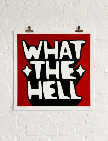 What The Hell - Blood Red