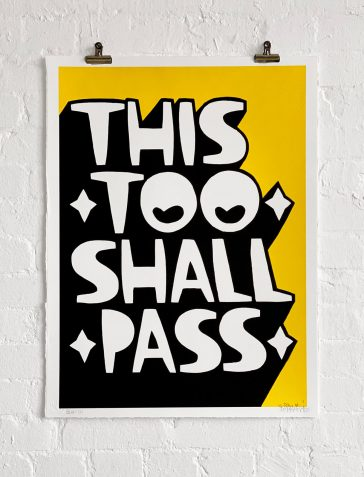This Too Shall Pass - Yellow