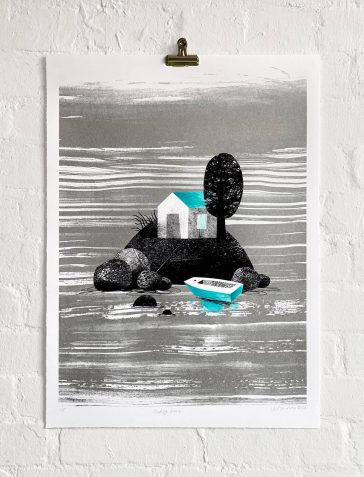 Finding Home - Turquoise